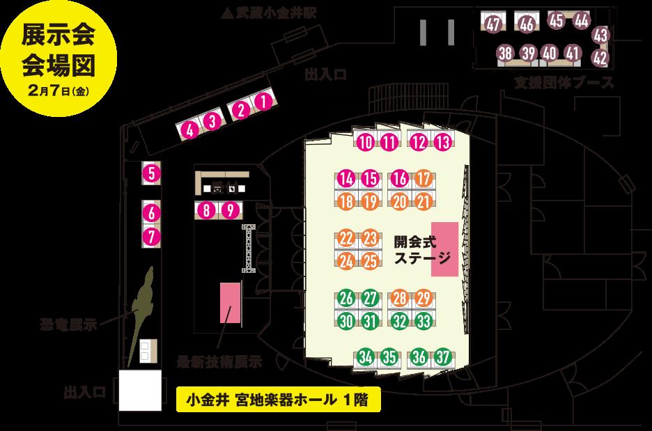 武蔵野エリア産業フェスタ 展示会 出展者一覧